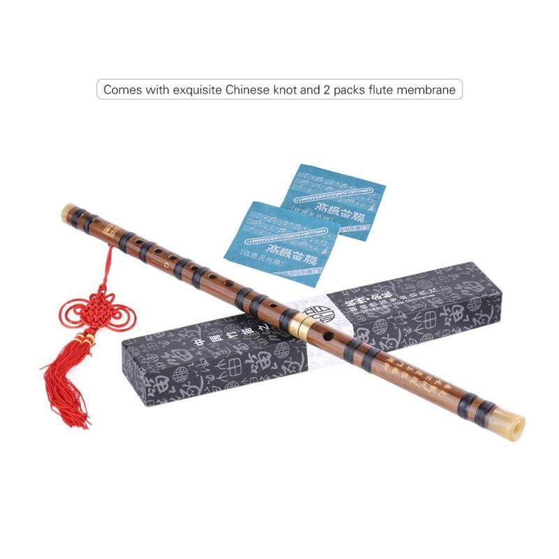 Pluggable Bitter Bamboo Flute Dizi Traditional Handmade Chinese Musical Woodwind Instrument Key of G Study Level Professional Performance ^ Malaysia