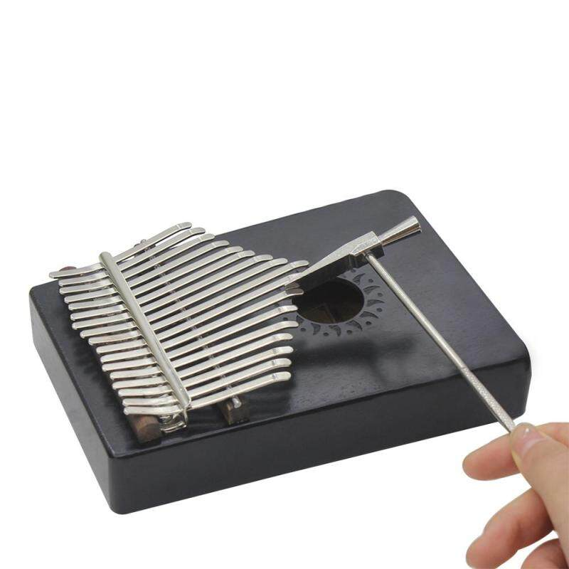 Portable 17 Key Kalimba Mbira Pocket Thumb Piano Solid Mahogany Wood Musical Instrument Gift for Music Lovers Beginner Students Malaysia
