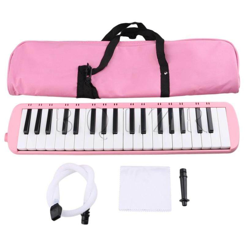 Portable 37 Note Piano Keys Melodica w/ Carrying Case Pink Malaysia