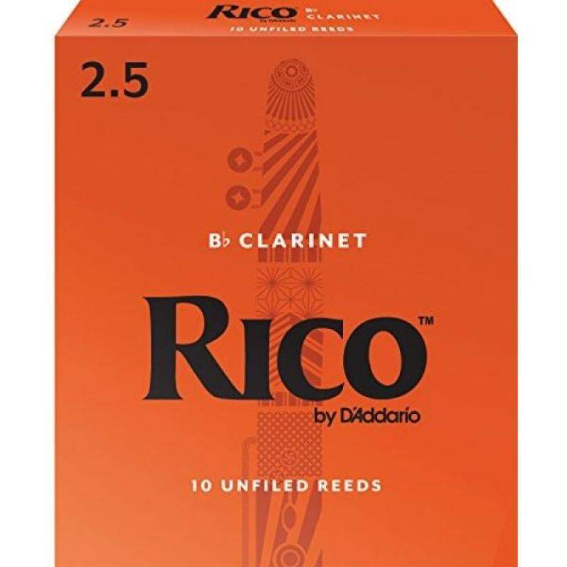 Rico by DAddario Bb Clarinet Reeds, Strength 2.5, 10-pack Malaysia