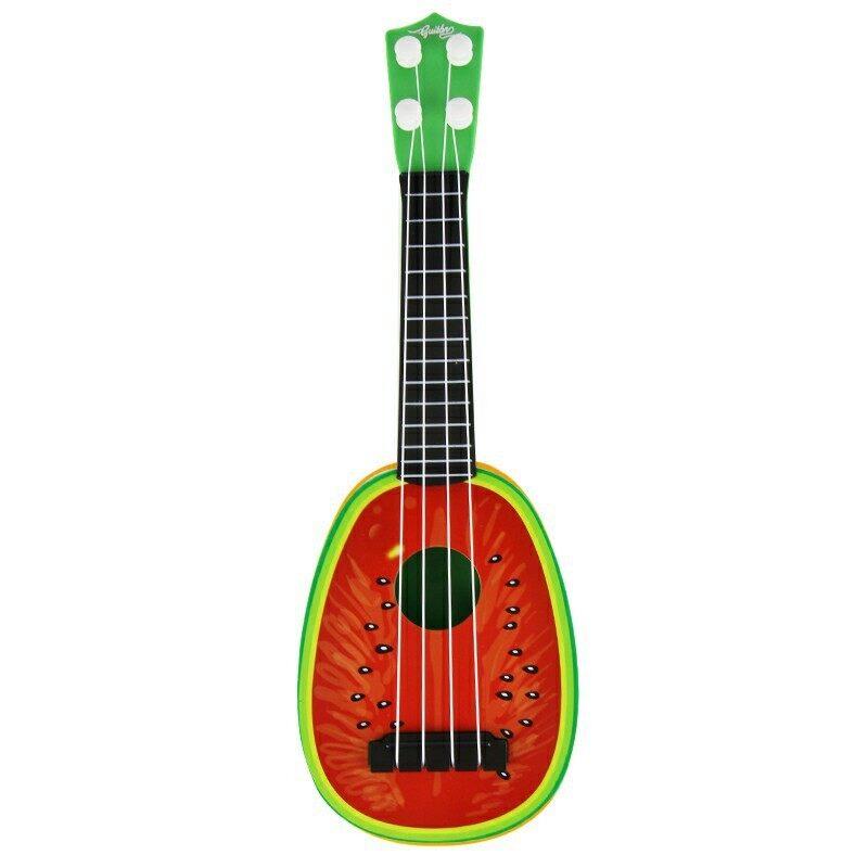 Rorychen Children Early Education Puzzle Toys Musical Instruments Mini Simulation Yukeli Li Four Strings Fruit Little Guitar Malaysia
