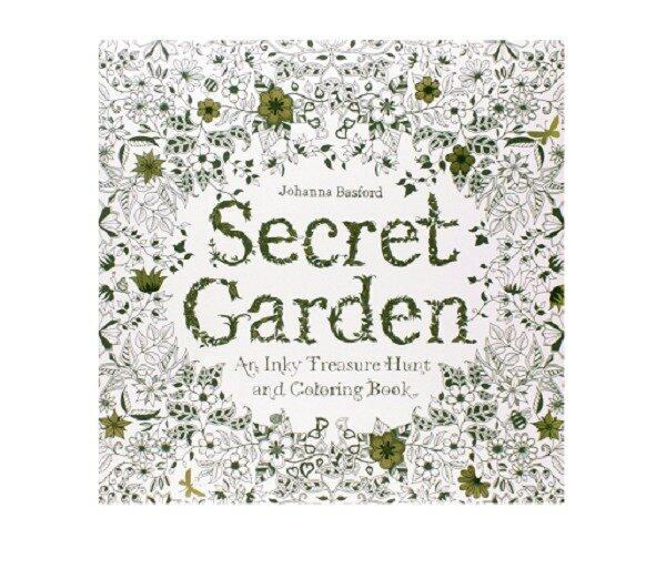 Secret Garden An Inky Treasure Hunt And Colouring Book