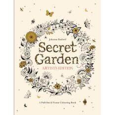 Secret Garden Artists Edition Johanna Basford