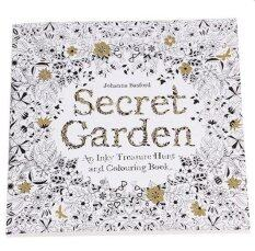 Set Of 2 Secret Garden An Inky Treasure Hunt And Coloring Book English 24 Pages