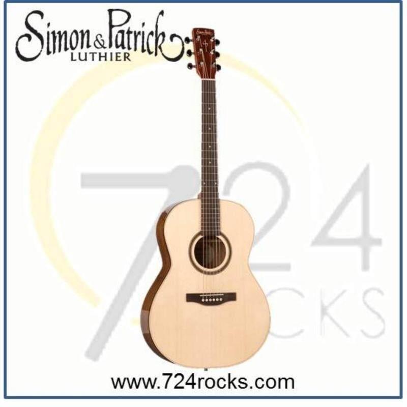 Simon & Patrick Canada Woodland Pro Folk Full Solid Acoustic Guitar Malaysia