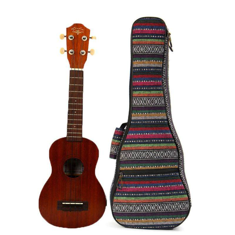 Soft Padded Cotton Folk Style Hand Portable Bag Case Cover for 26 inch Ukulele Malaysia