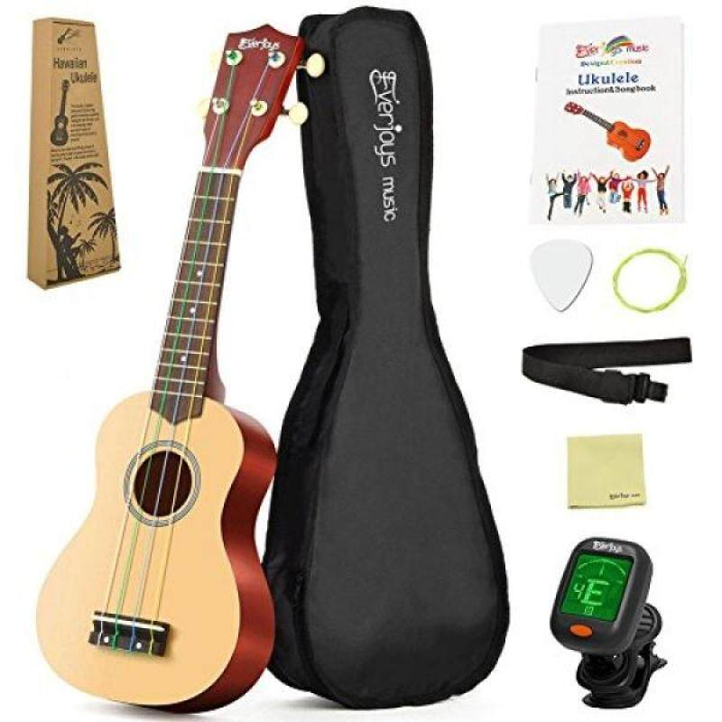 Soprano Rainbow Ukulele Beginner Pack-21 Inch w/ Gig Bag How to Play Songbook Digital Tuner All in One Kit Malaysia