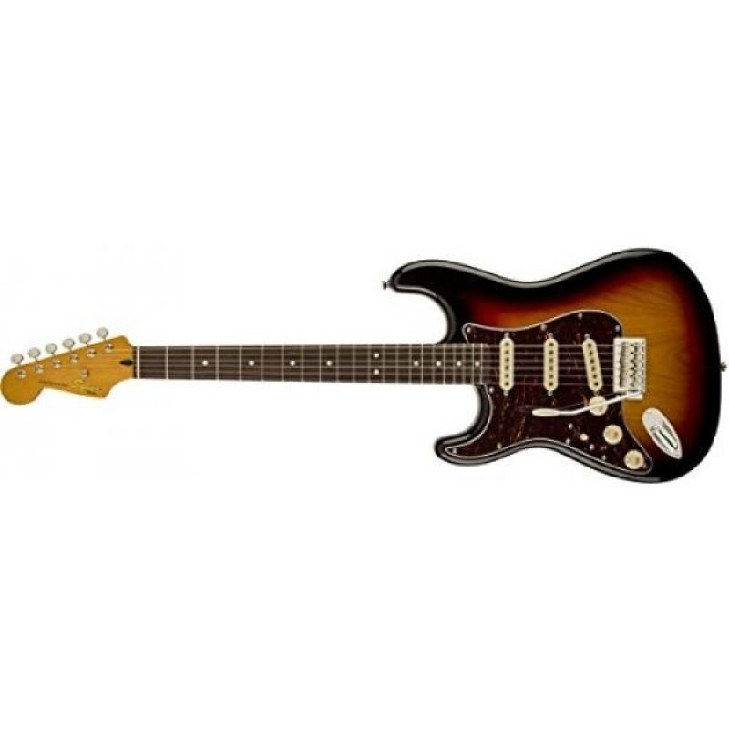 Squier by Fender Classic Vibe 60s Left Hand Stratocaster Electric Guitar - 3-Color Sunburst - Rosewood Fingerboard Malaysia
