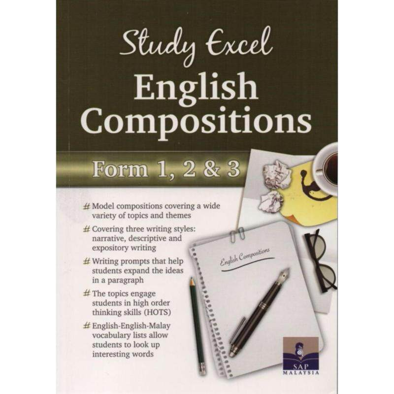 Study Excel English Compositions Form 1, 2 & 3 Malaysia