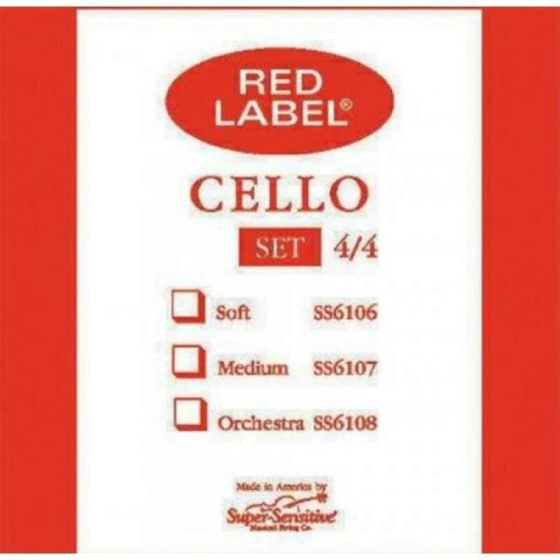 Super Sensitive Steelcore 4/4 Cello Strings: Set Malaysia