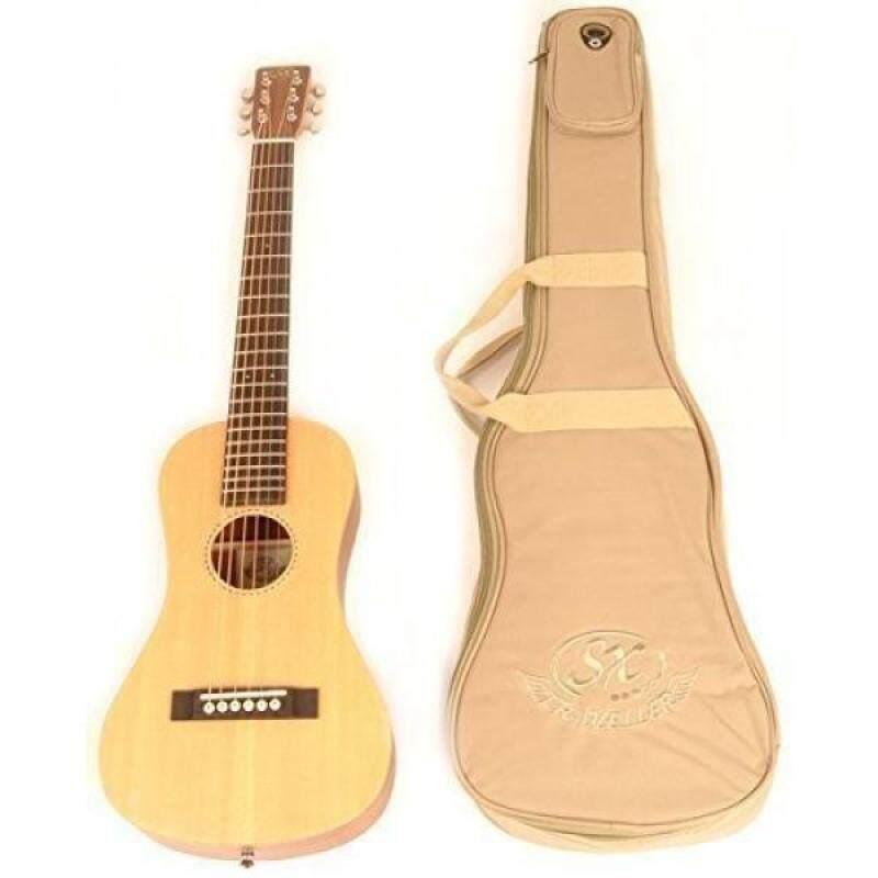 SX Trav 1 Traveling Guitar Portable with Bag Malaysia