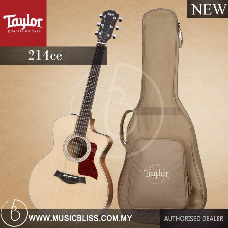 Taylor 200 Series 214ce Grand Auditorium Acoustic-Electric Guitar with Bag Malaysia