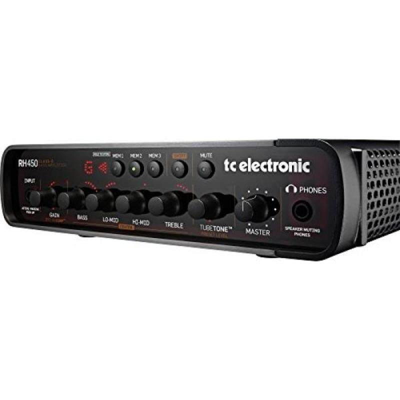 TC Electronic RH450 450W Bass Amp Head with TubeTone, SpectraComp, Onboard Tuner and Presets Malaysia