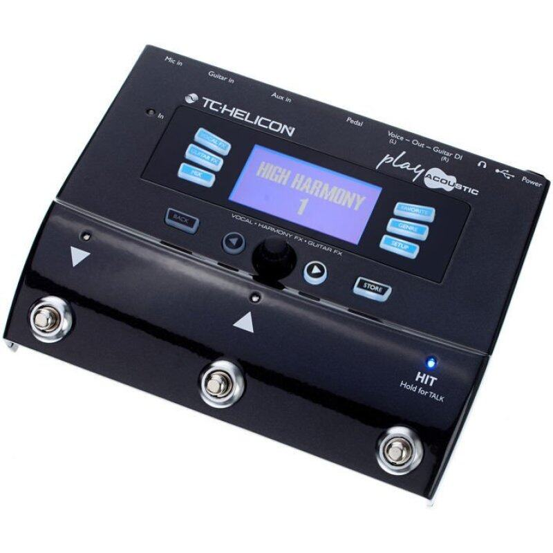 TC-Helicon Play Acoustic Effects Processing Pedal Malaysia