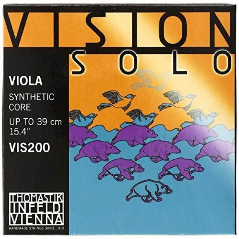 Thomastik-Infeld VIS200 Vision Solo Viola Strings, Complete Set, 4/4 Size, 15-Inch Malaysia