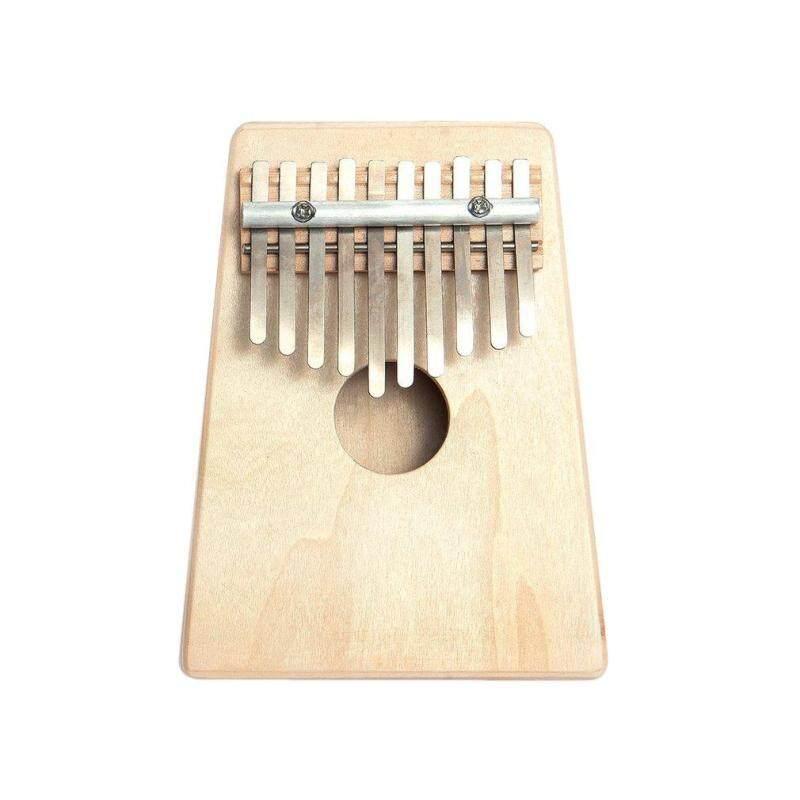 UINN 10 Key Finger Mbira Kalimba Thumb Piano Mini Pine Wood Percussion Instrument wood color Malaysia