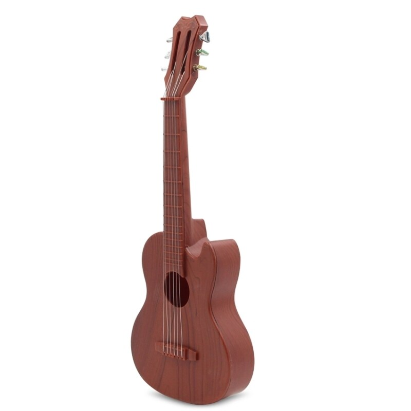 Ukelele Guitar with 4 Strings Colorful Lovely Musical Instrument Guitars Christmas Gift(Mahogany) Malaysia