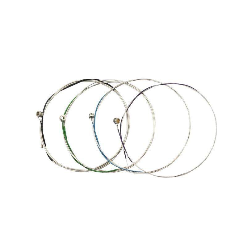 Universal Full Set (A-D-G-C) Viola String Strings Steel Core Nickel-Silver Wound with Nickel-plated Ball End for 14-16 Violas ^ Malaysia