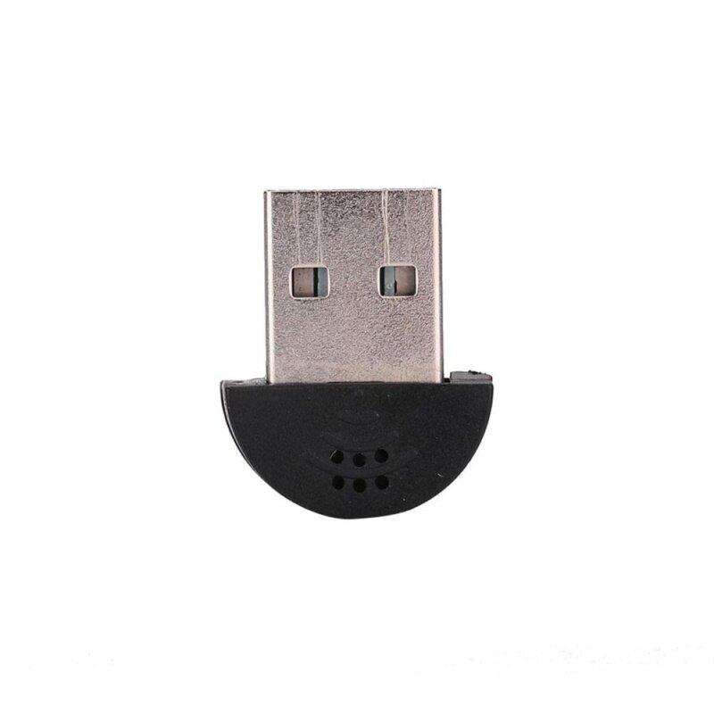 USB Plug Studio Voice Microphone MIC Recording Audio Adapter For PC Laptop Malaysia