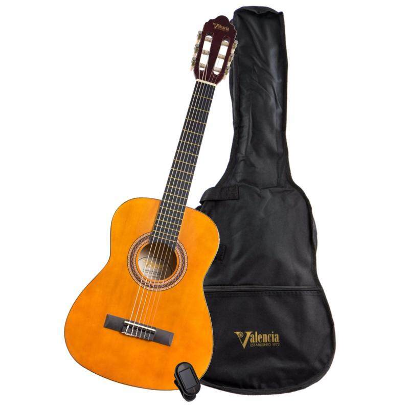 Valencia Full size Classical Guitar Beginner Guitar Package with Guitar Bag & Tuner Malaysia