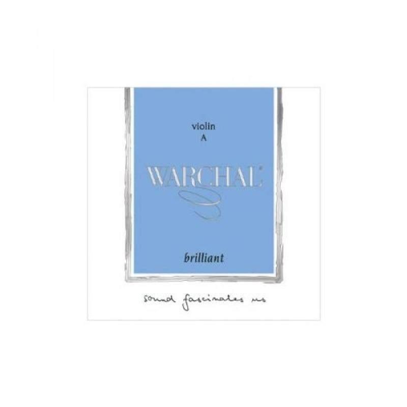 Warchal Brilliant 4/4 Violin String Set / Hydronalium D / Ball end E Malaysia