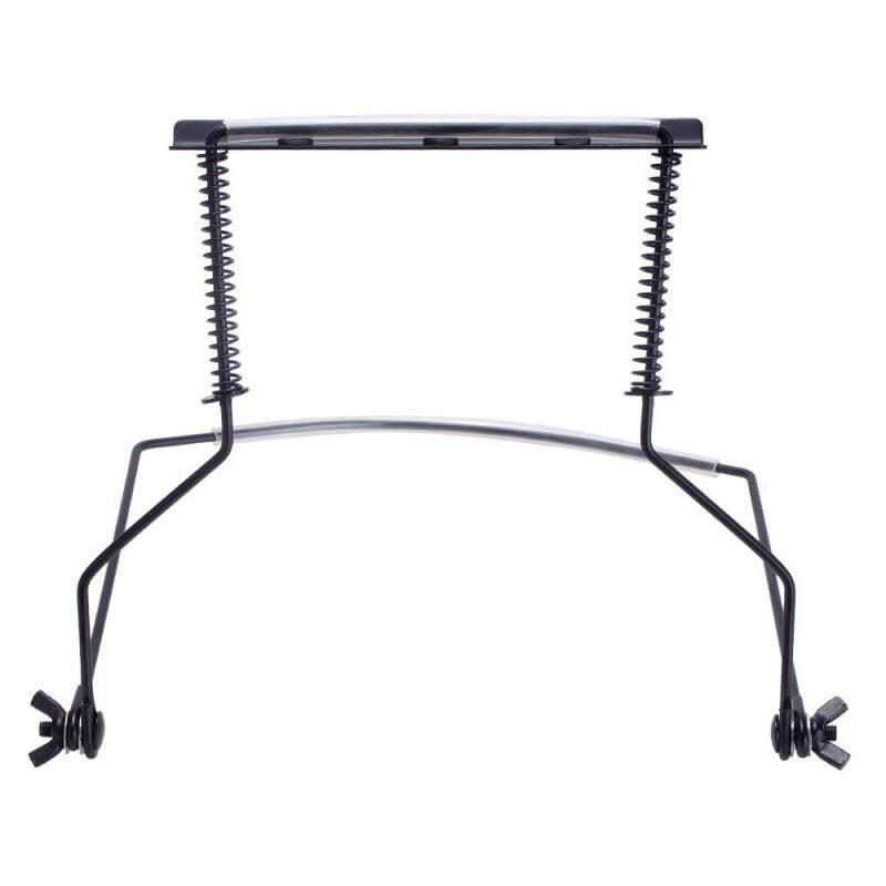 Womdee 10 Hole Harmonica Holder Stand for Hands-free Playing Perfectly Fit for Harmonica Lovers (Black) Malaysia