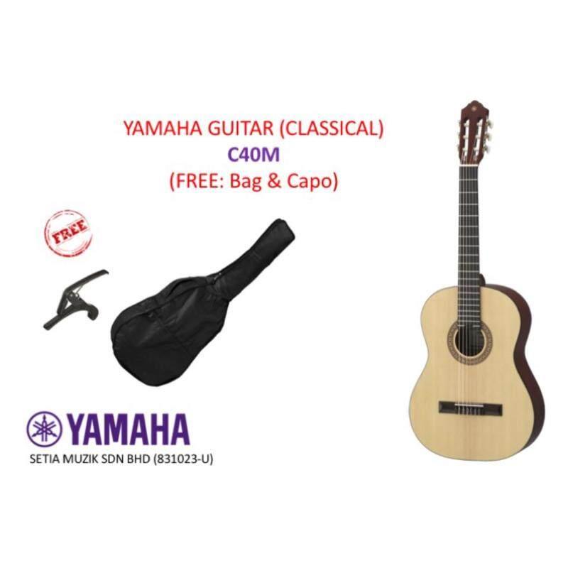 Yamaha C40M Classical Guitar (FREE: Bag & Capo) Malaysia