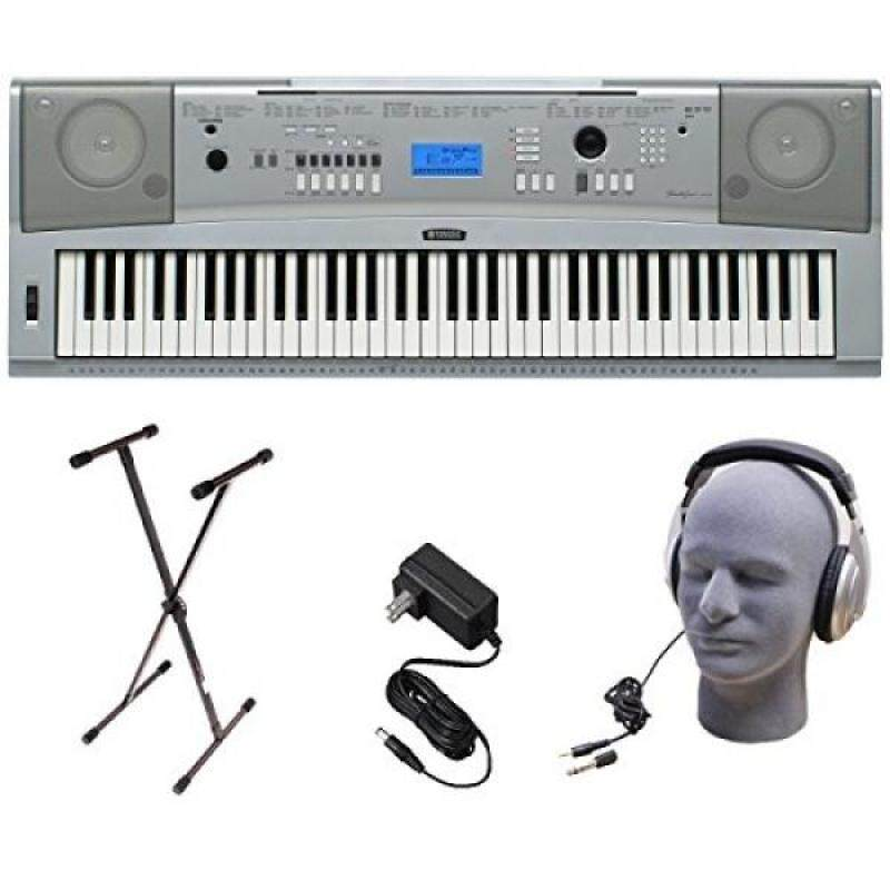Yamaha DGX230 76-Key Digital Piano Pack with Stand, Power Supply, and Headphones Malaysia
