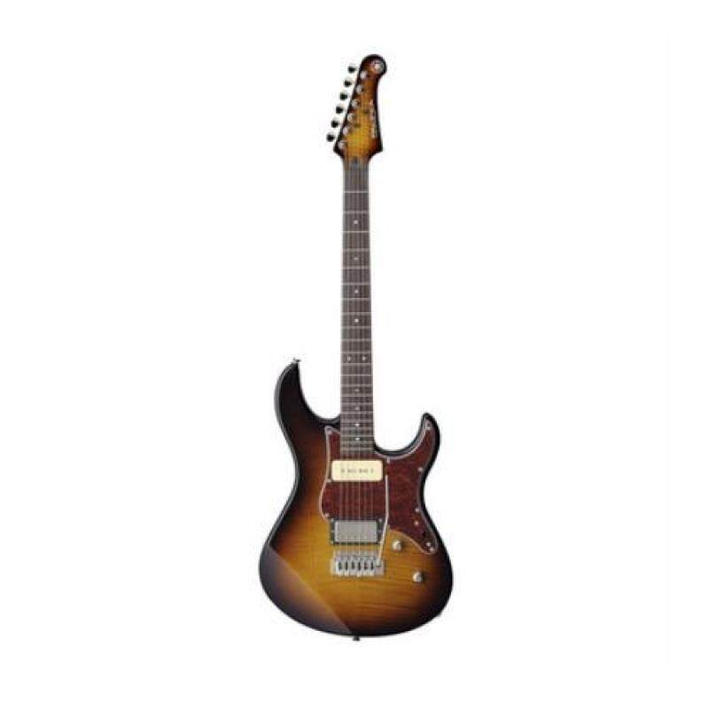 Yamaha Electric Guitar PAC611VFM TBS with FREE items Malaysia