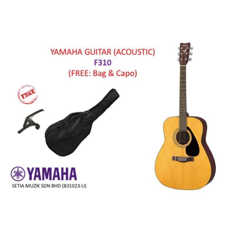 Yamaha F310 Acoustic Guitar (Free: 1x Bag  1x Capo) Malaysia
