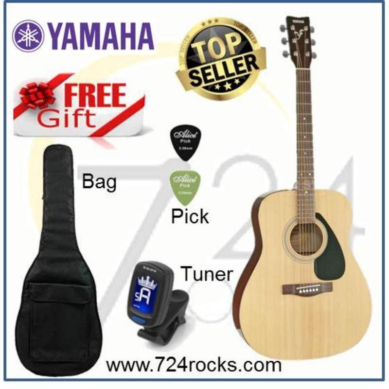 Yamaha F310 Beginner Acoustic Guitar Free Guitar bag, Tuner, Capo & picks Malaysia