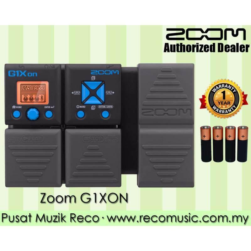 Zoom G1Xon Guitar Multi Effects Pedal Malaysia