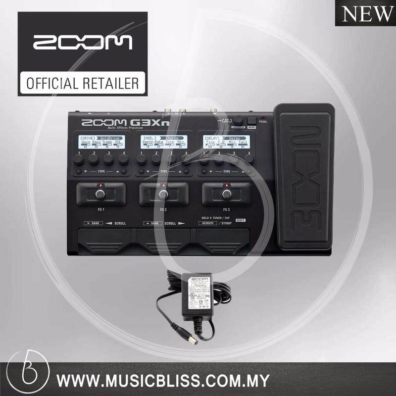 Zoom G3Xn Multi-Effects Processor with Original Adaptor (G3-Xn) Malaysia