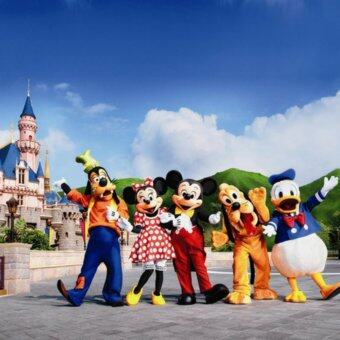 Hong Kong Disneyland 1 Day Pass + Meal Voucher (Child)