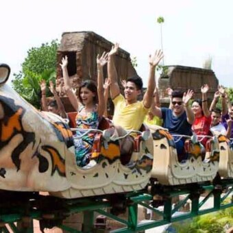 Ipoh: Lost World of Tambun Theme park + Hot spring Entrance Ticket (Adult)