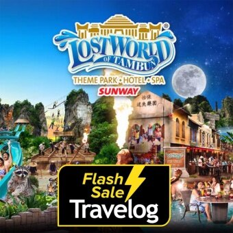 Ipoh: Lost World of Tambun Theme park + Hot spring Entrance Ticket (Child)