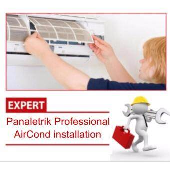 Professional 1.5HP Aircond Installation Service (Klang Valley) R410a Gas