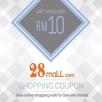 RM10 Gift Voucher for 28Mall online mall (max 1 time purchase)