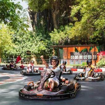 Selangor: Sunway Lagoon Theme Park Ticket (Non-Malaysian - Adult)