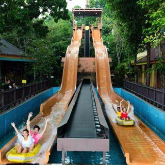 Selangor: Sunway Lagoon Theme Park Ticket (Non-Malaysian - Child)