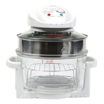 12L 1400W Halogen Convection Oven With Extension Ring