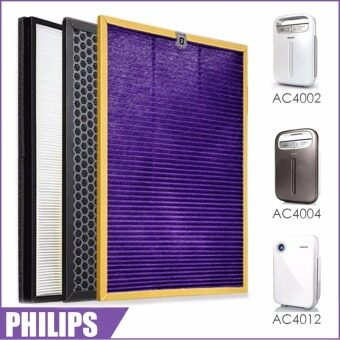 3pcs/lot OEM,AC4121+AC4123+AC4124 filters kit for Philips AC4002AC4004 AC4012 Air purifier parts