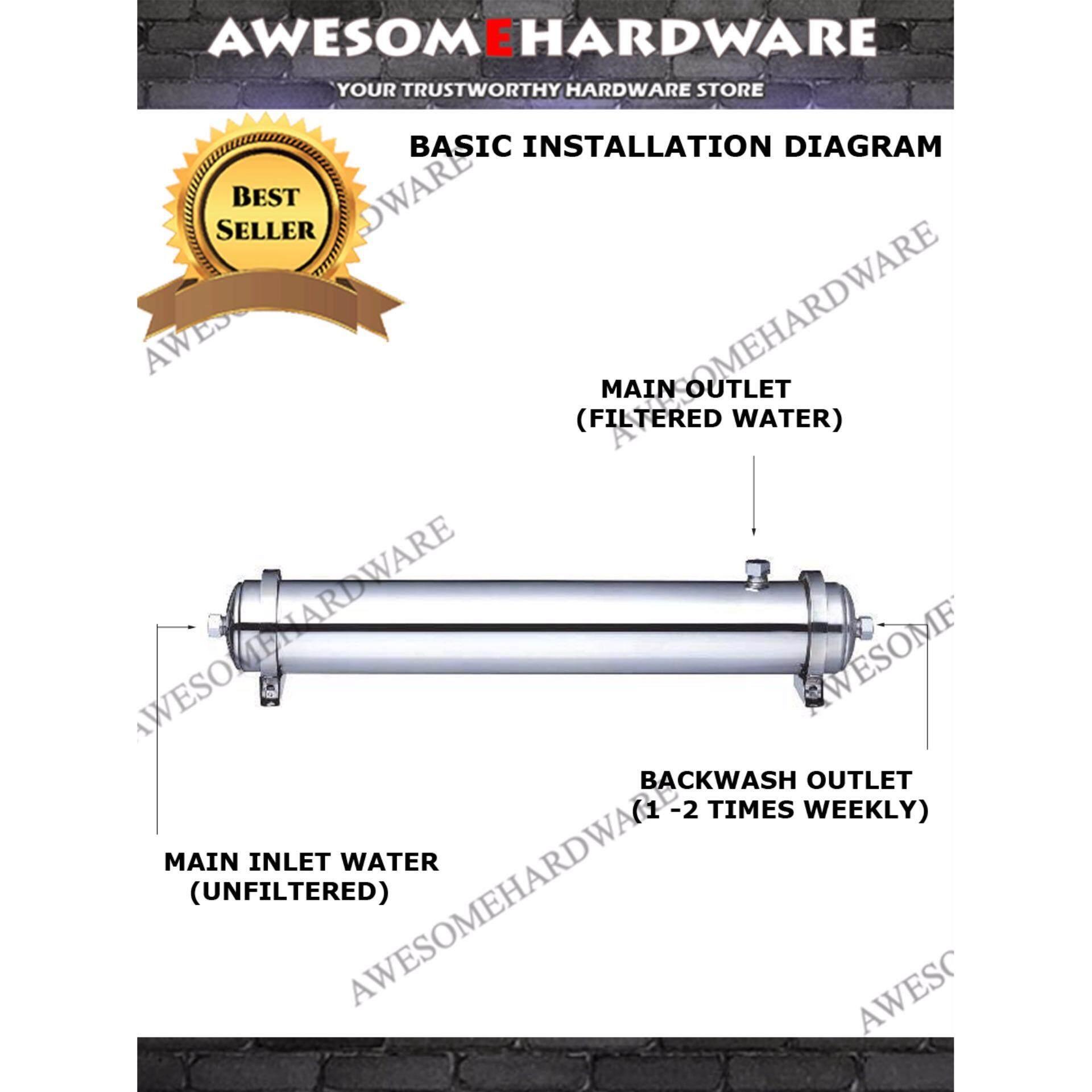 Cari Tawaran Terbaik Acqua Korea Uf3000 Ultra Filtration System Uf Water Diagram Membrane Filter Purifier 001 Micron