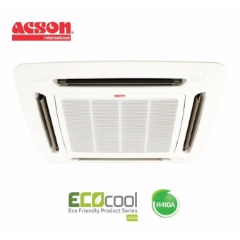 Acson A5CK10C/A5LC10C 1.0hp R410A Celling Cassette Single Split Air-conditioner
