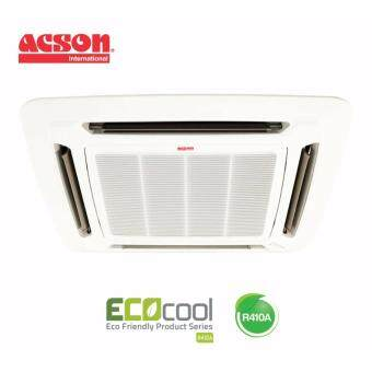 Acson A5CK30F/A5LC30C 3.0hp R410A Celling Cassette Single SplitAir-conditioner
