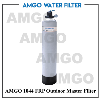 AMGO 1044 FRP Outdoor Master Fiber Glass Water Filter, WaterPurifier,inexpensive whole house filtration,Water Filter