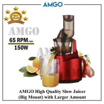 Panasonic Slow Juicer Rpm : AMGO High Quality Juice Maker Slow Juicers Big Mouth / Juice Blender / Juice Extractor Primada ...