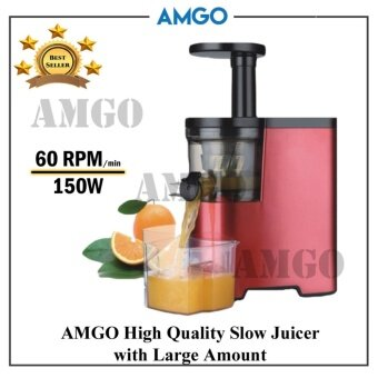 Amgo Slow Juicer Review : AMGO Slow Juicer 100% Fruit Juice Extraction /Juice Maker / Juicer Blender / Juice Extractor ...