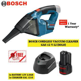 Bosch GAS 12 V-LI Cordless Vacuum Cleaner Free Battery(2.0AH)Charger(1210)