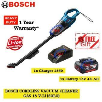 Bosch GAS 18V-Li 18V Cordless Vacuum Cleaner FREE B.Charger(1860/4.0AH)